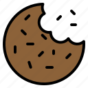 biscuit, cookie, cracker, food, snack icon