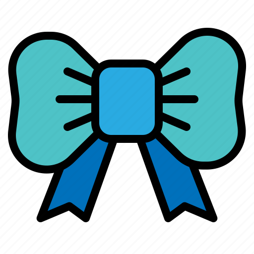 bow, necktie, ribbon, tie icon