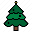 christmas, holidays, tree icon