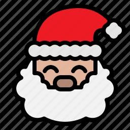 christmas, claus, santa, xmas icon
