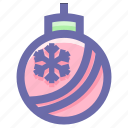 celebration, christmas, decoration, festivity, globe, holiday icon