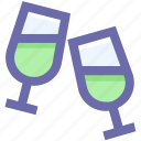 alcohol, drink, drinking, glass, wine, wine glass icon