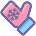 christmas, christmas gloves, cold, gloves, hand gloves icon