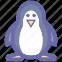 christmas, christmas animal, christmas penguin, holiday penguin, penguin, snowman icon