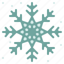 christmas, cold, snowflake, winter icon