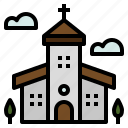 building, christian, christmas, church icon