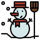 celebration, christmas, snow, snowman icon