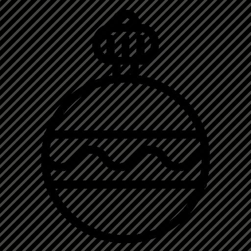 ball, christmas, decoration, snow, snowflake, sports, winter icon