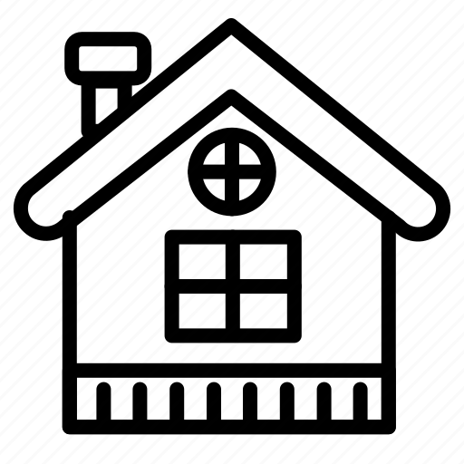 building, christmas, home, house, snow, winter icon