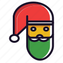 christmas, santa, santa claus, winter, xmas icon