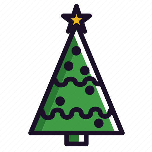 christmas, christmas tree, plant, tree, winter, xmas icon