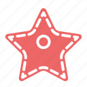 award, christmas, decoration, santa, star, winter icon