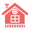christmas, home, house, property, winter icon