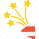 christmas, firework, holidays, xmas icon