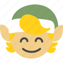 christmas, elf, helper, holidays, santa, xmas icon