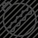 ball, christmas, holidays, line, outline, tree, xmas icon