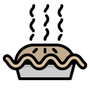 bakery, dessert, food, pie, restaurant icon