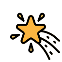 christmas, favorite, rate, shapes, star icon
