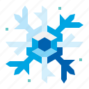 christmas, flake, snow, snowflake icon