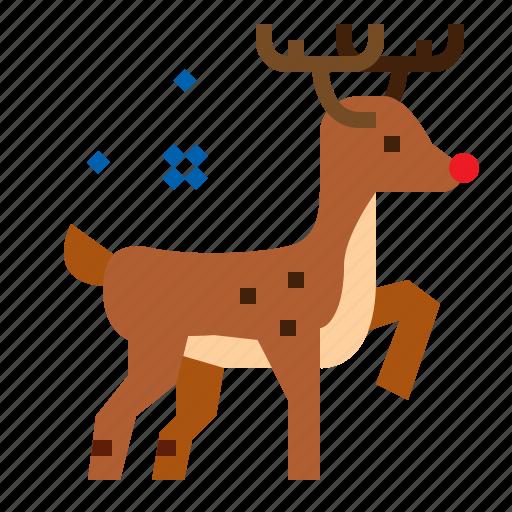 Christmas Reindeer.Christmas By Pichet Sansri
