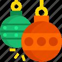 balls, christmas, cold, holday, snow, winter, xmas