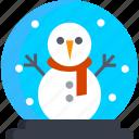 christmas, cold, globe, holday, snow, winter, xmas