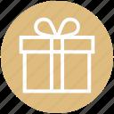 christmas, christmas gift, gift, gift pack, present icon