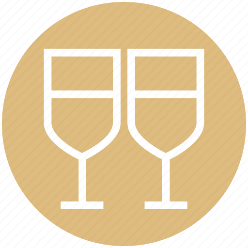 beverage, christmas, drinking, glass, wine icon