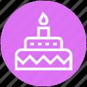 birthday cake, cake, celebration, christmas, party icon