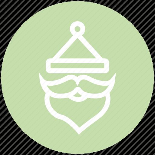 Christmas, claus, santa, santa claus, santa hat icon - Download on Iconfinder