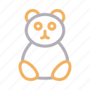 bear, christmas, party, teddy, toy icon