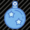 ball, christmas, decoration icon