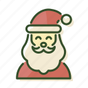 christmas, christmas man, santa, santa claus, xmas icon