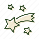 christmas, comet, decoration, star