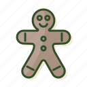 christmas, ginger, gingerbread, gingerbread man