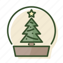 christmas, christmas ball, decoration, tree, winter