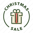 christmas, christmas sale, christmas shopping, sale icon