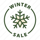 christmas, sale, shopping, winter, winter sale icon