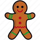 christmas, cookie, gingerbread, new year