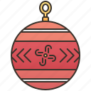 ball, christmas, decorative, lights, ornament