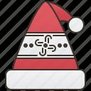 costume, party, santa, christmas, hat