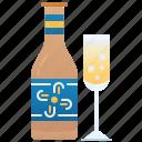 celebration, champion, drink, party, wine