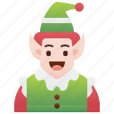 assistance, elf, fairy, santa, tale