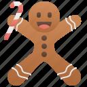 bakery, biscuit, christmas, cookies, gingerbreadman