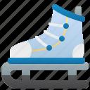 hobby, ice, skates, sport, winter