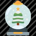 christmas, decorative, gift, globe, snowball