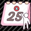 calendar, calendar date, date, datebook, daybook, yearbook icon