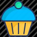 bakery, brownie, cake, cupcake, dessert, pie