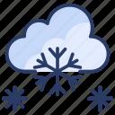 cloud, flake, snow, snowing, weather, winner, winter