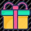 box, card, gift, present, ribbon, shopping, surprise
